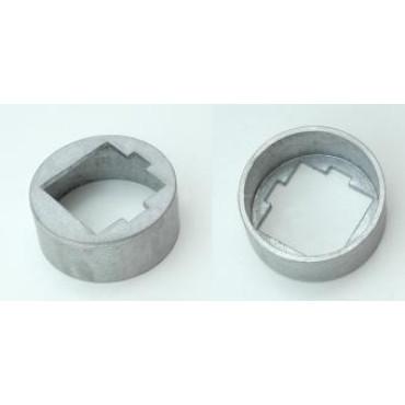 Voetkap Aluminium Korfbalpaal