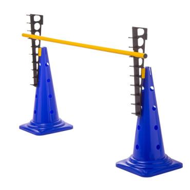 Set pionnen 43 cm met verstelbare dwarsligger