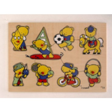 Puzzel Sportende Beren