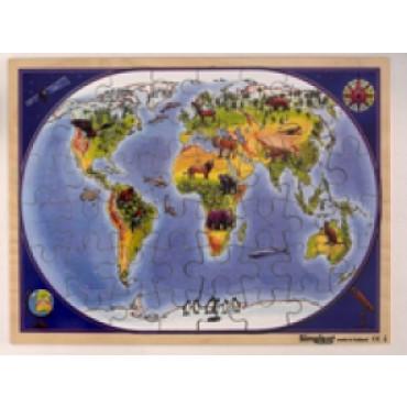 Puzzel Continent