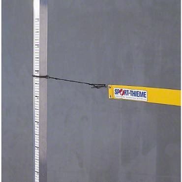 Hoogspringlat niet opblaasbaar 4 m geel