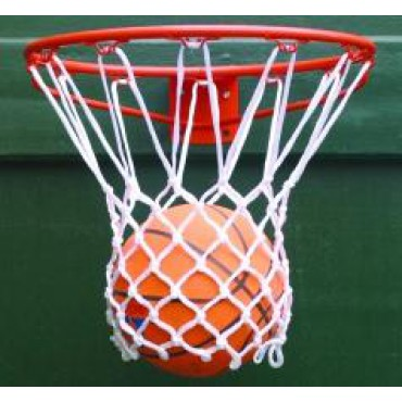 Basketbalnet Pes 3 mm Wit