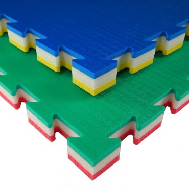 Puzzelmat Polyetyhleen J40S 100 x 100 x 4 cm - kids