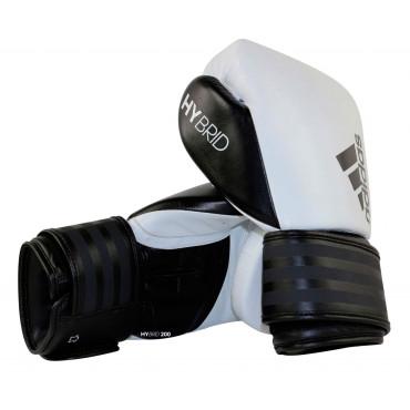 Bokshandschoenen ADIH200 Zwart - Wit