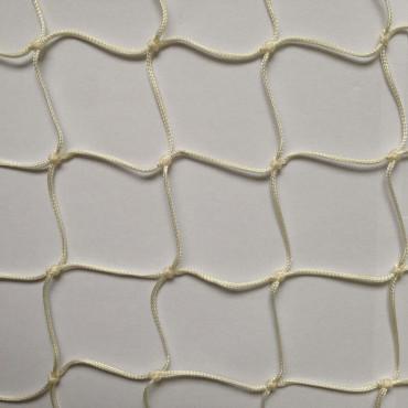 Afschermnet 2 mm Nylon 100 x 100 mm - Wit