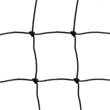 Afschermnet 1,8 mm PE 50 x 50 mm - Zwart