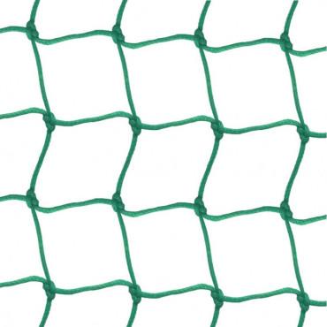 Afschermnet 2,5 mm PE 120 x 120 mm - Groen