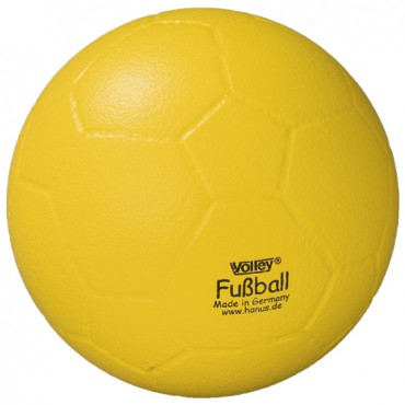 Voetbal Volley Foam met huid
