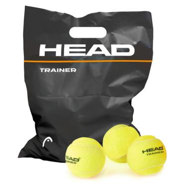 Tennisballen Head Trainer - 72 stuks - inclusief emmer