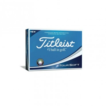 Golfbal Titleist Tour Soft Wit - 10 stuks