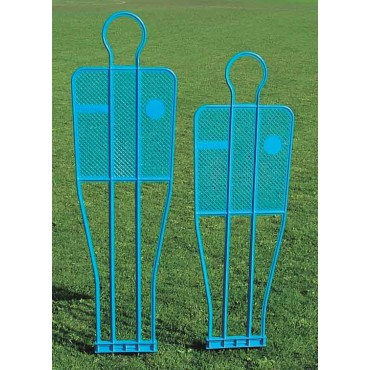 Voetbaloefenpop Barret 180 cm - Blauw