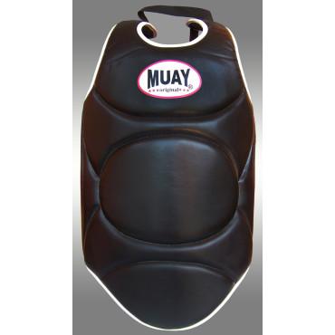Body Protector Muay PU - Zwart