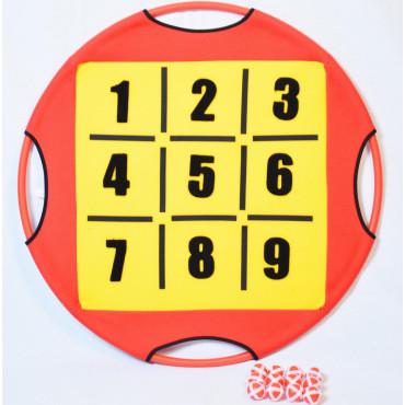 Dartball Target met Cijfers