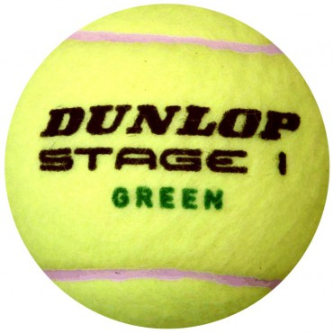 Tennisbal Dunlop Low Compression Stage 1
