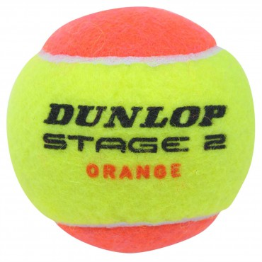 Tennisbal Dunlop Low Compression Stage 2
