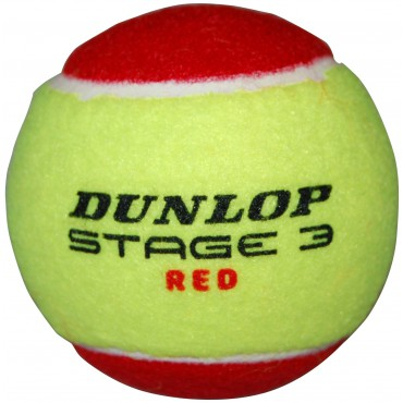 Tennisbal Dunlop Low Compression Stage 3