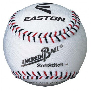 Honkbal Easton Softstitch 9 Inch - Wit