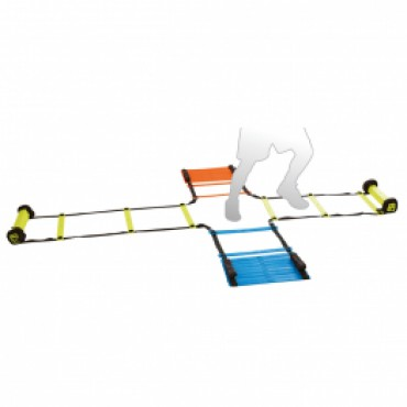 Trainingsladder Agility Crossmodel 4x 2 Meter