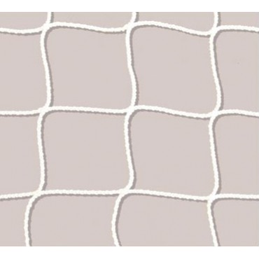 Hockeydoelnet 2 mm Nylon 0,9 x 0,6 x 0,45 x 0,45 m - Wit