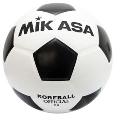 Korfbal Mikasa K3 Zwart - Wit