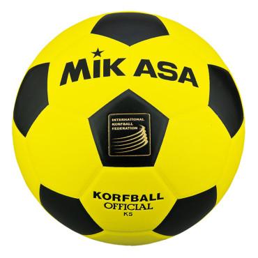 Korfbal Mikasa K5 Geel - Zwart