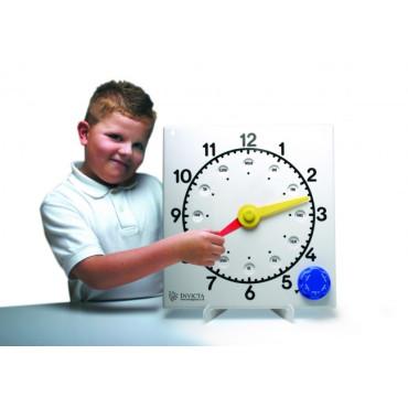 Klok t.b.v. leren klokkijken