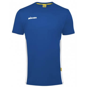 Shirt Mikasa Kacao MT261 Royal - Wit