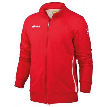 Fleece Vest Mikasa Kingo MT537 Rood - Wit