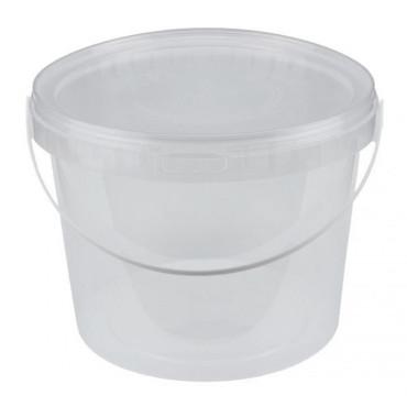 Opbergemmer Plastic met Deksel