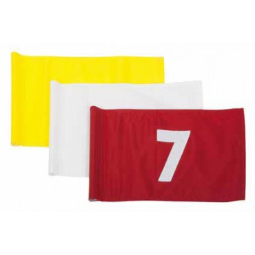 Flagsticks-Vlag Pattison Rood - Genummerd 1 t/m 9