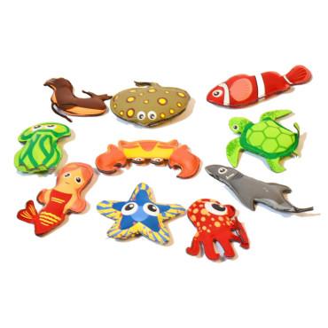 Pittenzakjes Waterdieren - Set van 10 stuks
