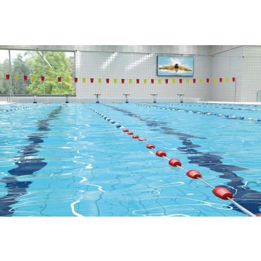 Scheidingslijn Zwembad 25 m