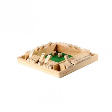 Shut the Box 4 personen