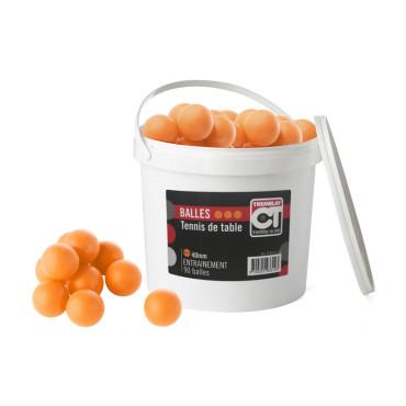 Tafeltennisballen Emmer 2 Ster Oranje - 90 stuks