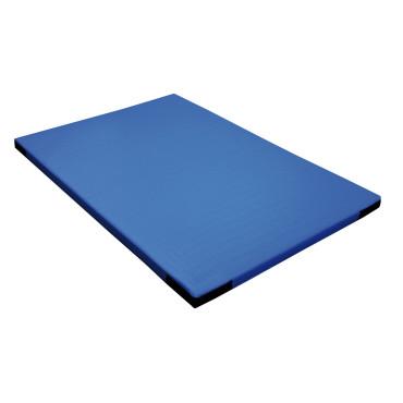 Turnmat Klittenband Hoek - 150 x 100 x 6 cm - Blauw