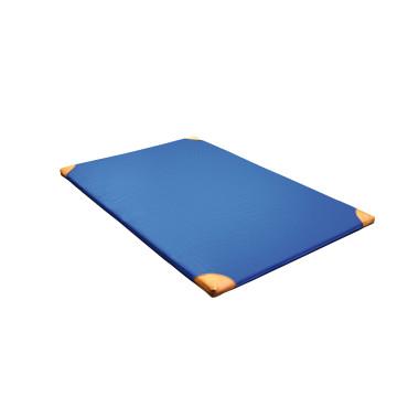 Turnmat Leren Hoek - 200 x 100 x 6 cm - Blauw