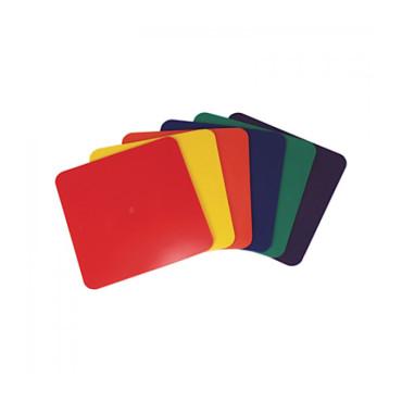 Vloermarkeringen Set PSF 23 x 23 cm - 6 Kleuren