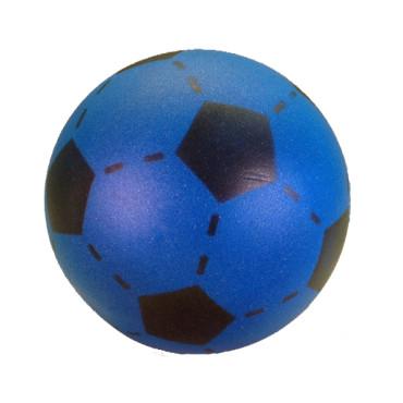 Voetbal zonder huid blauw