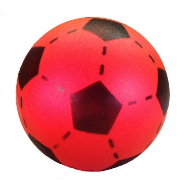 Voetbal zonder huid rood