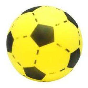 Voetbal zonder huid geel