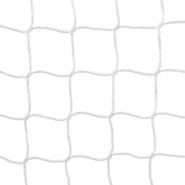 Voetbaldoelnet 4 mm PPM - 7,5 x 2,5 x 1 x 2,25 m - Wit