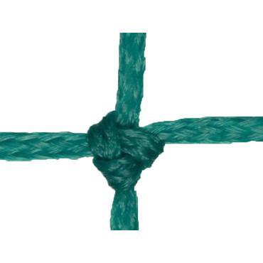 Voetbaldoelnet 3 mm PE - 3 x 1 x 0,65 x 0,85 m - Groen