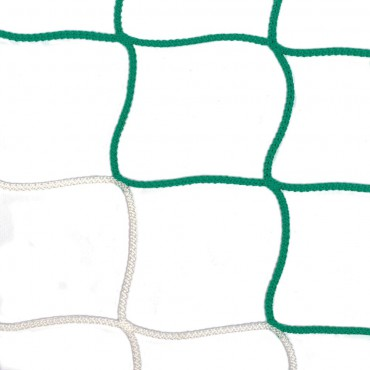 Voetbaldoelnet 4 mm PPM - 5 x 2 x 0,8 x 1,5 m - 2 kleuren