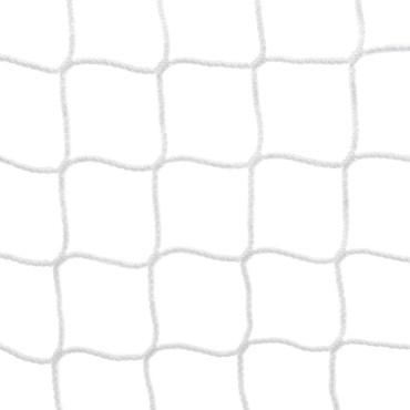 Voetbaldoelnet 3 mm PPM - 7,5 x 2,5 x 0,8 x 1,5 m - Wit