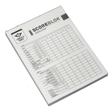 Yahtzee Scoreblok 100 Vel