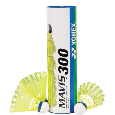 Shuttle Yonex Mavis 300 Geel
